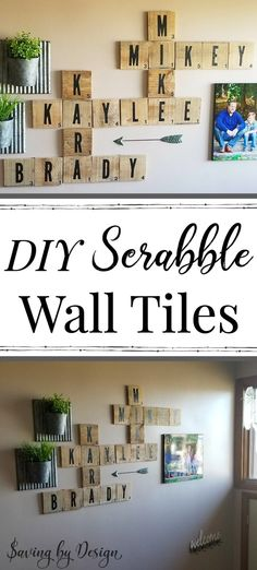 If you are looking for Diy Pallet Wall Art Ideas, You come to the right place. Here are the Diy Pallet Wall Art Ideas. This article about Diy Pallet Wall Art Ide. Rustic Wood Wall Decor, Pallet Wall Decor, Diy Wall Decor, Pallet Walls, Wall Wood, Rustic Walls, Home Decor Wall Art, Room Decor, Scrabble Wand