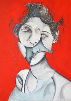 "Saatchi Art Artist Andy Butler; Drawing, ""Perception"" #art"