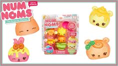 Num Noms Unboxing   Sour Citrus Cupcake Starter Pack   NumNom Review