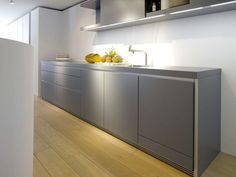 Kitchen Lighting Solutions Using LED Technology - Wholebuild UK Mini Kitchen, Kitchen Pantry, Kitchen Cabinets, Cupboards, Bulthaup B1, Pantry Inspiration, Internal Design, Break Room, Cuisines Design