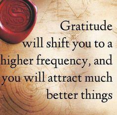 Attitude of gratitude... #life