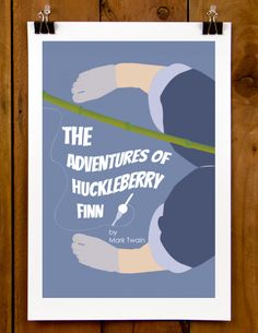 The Creative Action Network | The Adventures of Huckleberry Finn by E. Michelle Peterson | Get a vintage print, postcard pack, ebook or pape...