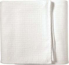 """Somewhere between a lightweight quilt and a supersoft blanket, this update on a traditional matelasse offers the best of both worlds. The pickstitch detail gives it fabulous texture and the generous size makes it easy to tuck. Smooth on one side and slubby on the other, it looks great any way you fold it.  95% stonewashed cotton, 5% acrylic Machine wash Made in Portugal Twin: 72 x 90"""" Full/Queen: 90""""SQ King/Cal King: 110 x 90"""""""