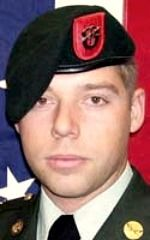 Army SGT James M. Treber, 24, of Imperial Beach, California. Died June 29, 2008, serving during Operation Enduring Freedom. Assigned to 1st Battalion, 7th Special Forces Group (Airborne), Fort Bragg, North Carolina. Died of drowning when his vehicle rolled into a canal during combat operations in Khosrow-E Sofla, Kandahar Province, Afghanistan.