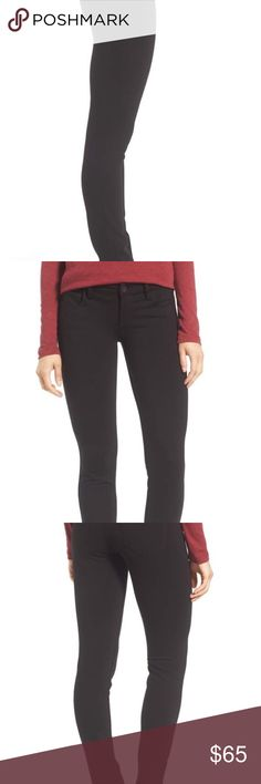 Kut from Kloth black pants Diana Ponte Knit Five Pocket Skinny Pants. Still in original plastic packaging from Nordstrom Kut from the Kloth Pants Skinny