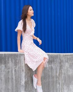 Shop the latest arrivals at SHEIN, always stay ahead of the fashion trends. Hundreds of new looks updated every day! Women's Dresses, Satin Dresses, Cute Dresses, Sexy Asian Girls, Beautiful Asian Girls, New Dress, Dress Up, Meeting Outfit, Shops