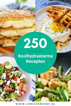 250 Koolhydraatarme Recepten View more than 250 delicious low-carb recipes on our site Lowcarbchef. Healthy Meals For Kids, Easy Meals, Low Carb Recipes, Healthy Recipes, Good Food, Yummy Food, Light Recipes, Easy Cooking, Food Inspiration