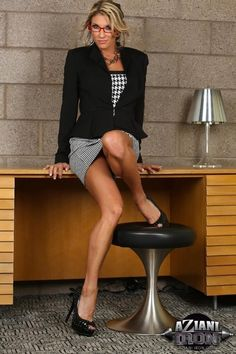 business women's legs