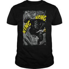 King Kong Crushing Poster - T-Shirt, Hoodie, Sweatshirt