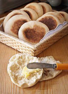Muffins ingleses, receta inglesa con Thermomix