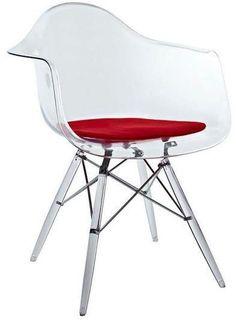Apt2B Sunset Strip Side Chair CLEAR