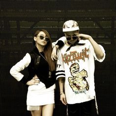 CL and G-Dragon show off their leader swag