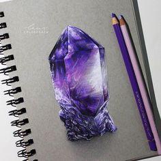 Beautiful crystal by @chloeoshea _ Follow @artistic.empire...
