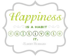 Some Pursue Happiness, Others Create It {Printable} // happiness prints // happiness is a habit