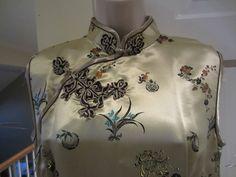Woman's de seda estilo asiático Bordado longo comprimento total Vestido Floral Tamanho 6 Novo com etiquetas | Roupas, calçados e acessórios, Roupas femininas, Vestidos | eBay!