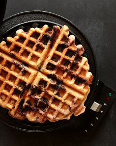 LEMON BLUEBERRY WAFFLES {VEGAN + GLUTEN FREE} / If you aren't gluten-free, just use all purpose, wheat or another variety of flour you have on hand. If you aren't vegan, use real eggs. If you lack blueberries, swap in another berry instead.