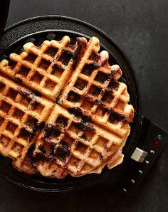 Lemon blueberry gf waffles
