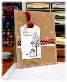 Bada-Bing! Paper-Crafting!: Freaking Finally! - SU - White Christmas