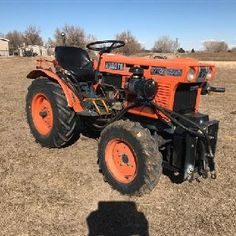 1978 Kubota B7100 4WD Tractor Small Garden Tractor, Kubota Tractors, Tractor Attachments, Compact Tractors, Diesel Engine, Lawn And Garden, Mini, Classic, Gardening