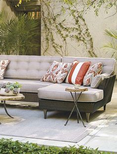 You'll feel like you're at a five-star hotel when you relax on the Tribeca Modular Seating; a contemporary place to socialize and enjoy the great outdoors.