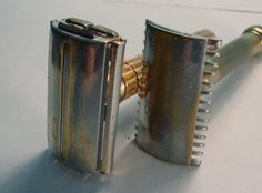 How to buy vintage safety razors and common problems to watch out for.