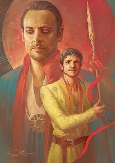 """""""I am not blind, nor deaf. I know you all believe me weak, frightened, feeble. Your father knew me better. Oberyn was ever the viper. Deadly, dangerous, unpredictable. No man dared tread on him. I was the grass. Pleasant, complaisant, sweet-smelling, swaying with every breeze. Who fears to walk upon the grass? But it is the grass that hides the viper from his enemies and shelters him until he strikes."""" - Doran to the Sand Snakes"""