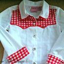 Step 0: Turn a Collared Shirt into a Cowboy/Cowgirl Shirt