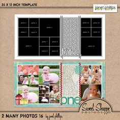 two page layout