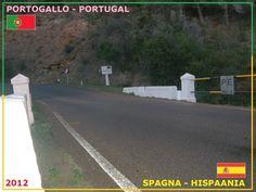 Confini amministrativi - Riigipiirid - Political borders - 国境 - 边界: 2012 ES-PT Hispaania-Portugal Spagna-Portogallo