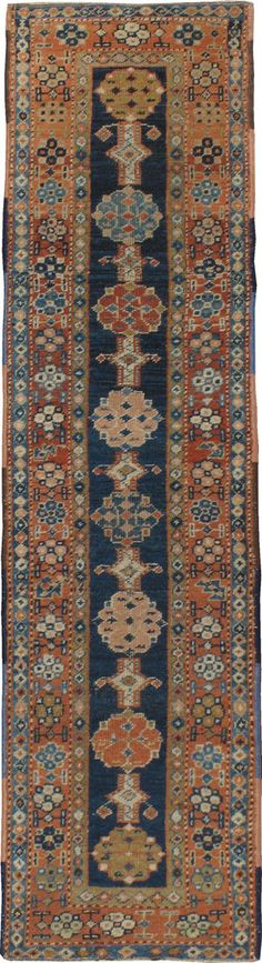 Antique Heriz Runner, Persian rug