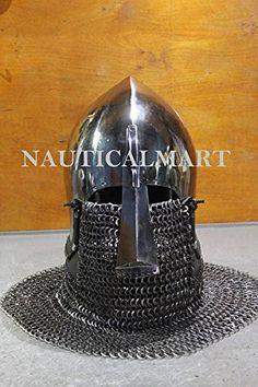 Medieval Helmets, Medieval Armor, Elmo, Helmet Head, Knights Helmet, Larp, Inventions, Riding Helmets, Weapons