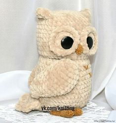 Amazing Home Sewing Crafts Ideas. Incredible Home Sewing Crafts Ideas. Owl Crochet Patterns, Crochet Owls, Amigurumi Patterns, Crochet Animals, Crochet Baby, Amigurumi Toys, Stuffed Toys Patterns, Handmade Toys, Doll Toys