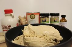 Ginger Pumpkin Spice Paleo Ice Cream! Just in time for Thanksgiving...