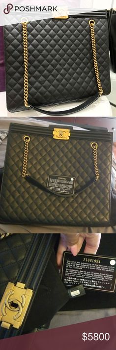 cec88a2c994d Chanel LeBoy Tote *Authentic* Practically new I only used it a handful of  times