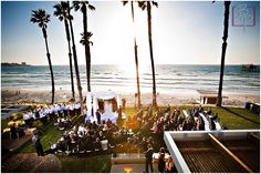 Scripps Seaside Forum | another interesting ceremony format - 135 chairs