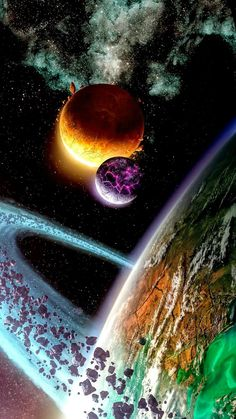 Our universe is very mysterious. We have found very extreme stars and planets in it. Here are some extreme planets. Outer Space Wallpaper, Wallpaper Earth, Planets Wallpaper, Galaxy Wallpaper, Tumblr Wallpaper, Galaxy Theme, Galaxy Art, Doflamingo Wallpaper, Space Artwork