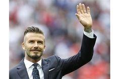 Victoria Beckham, David Cameron among others pay tributes to David Beckham. http://#Football http://#DavidBeckham
