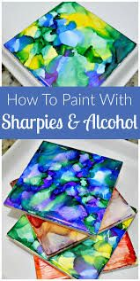 Image result for sharpie on canvas with rubbing alcohol
