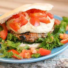 Best Burger Sauce Recipe - Recipe Girl Good Burger Sauce Recipe, Best Burger Sauce, Burger Sauces Recipe, Sauce Recipes, Yummy Recipes, Dinner Recipes, Yummy Food, Best Turkey Burgers, Greek Turkey Burgers