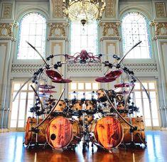Drum Cage, Drums Quotes, Drums Studio, Drum Tattoo, Drum Room, Drums Art, Metal Drum, Dope Music, Snare Drum