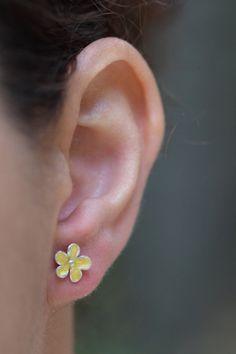 Garnet Globe Earrings Arched Stem 925 Sterling Silver Dangle Drop Round New