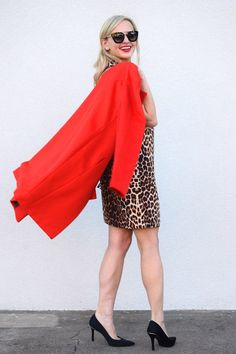 Red And Leopard By Vandi Fair
