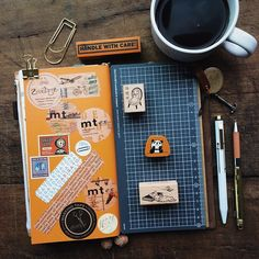 Instagram Daily Journal, Bullet Journal, Journal Pages, Life Journal, Journals, Handmade Books, Packing Tips For Travel, Travel Planner, Travelers Notebook