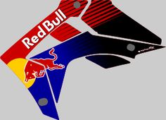 Honda CRF Redbull graphics