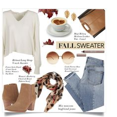 How To Wear Cozy Fall Sweaters!! Outfit Idea 2017 - Fashion Trends Ready To Wear For Plus Size, Curvy Women Over 20, 30, 40, 50