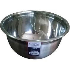 Mainstays 8-Quart Mixing Bowl, Stainless Steel
