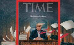 Revista Time alerta sobre una tormenta en la Casa Blanca