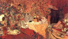 Édouard Vuillard, La table de toilette