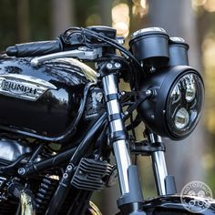 This OEM Triumph Headlight Bucket is a great option for swapping your stock chrome for black. It can also be used to make a complete headlamp assembly.
