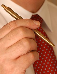Non solo arredamento: una penna in ottone